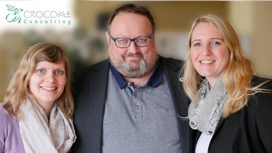 Jeannine Gehle, Tobias Nehls und Stephanie Hiller