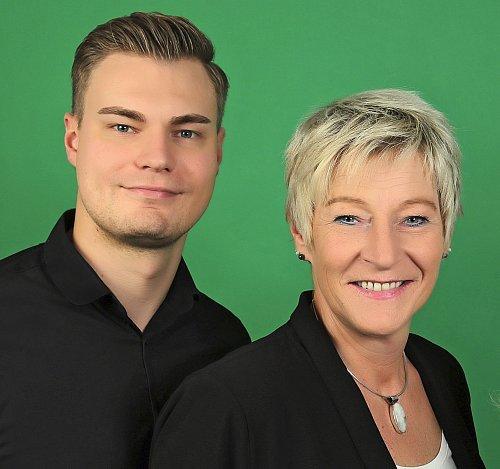 Kamil Jas und Karin Kirstein