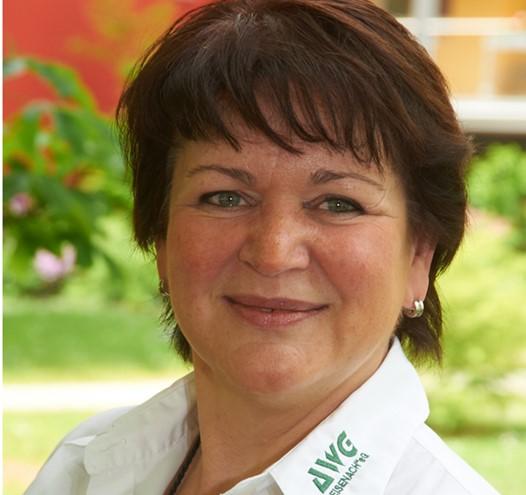 """Frau Ines Hartung, kaufmännischer Vorstand der AWG """"Eisenach"""" eG"""
