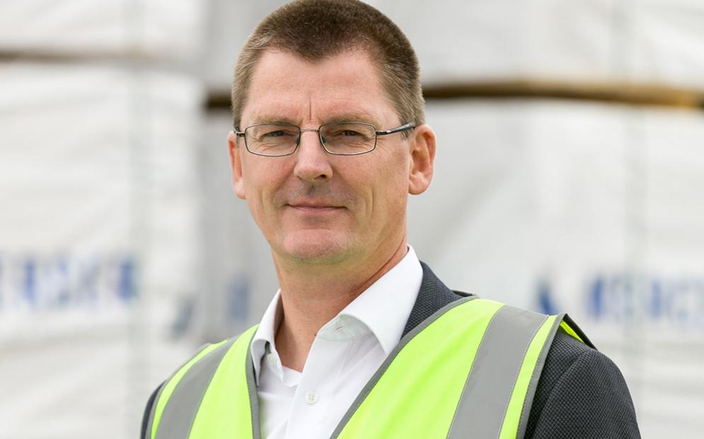 Dr. Carsten Merforth, Geschäftsführer, Mercer Timber Products GmbH