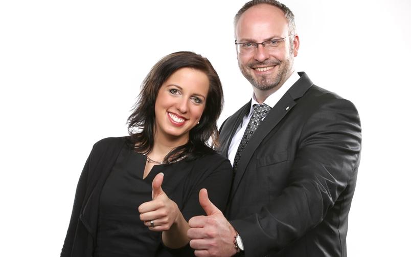 Julia Seidel STBin und Jens Kriester STB , Freund & Partner GmbH, Niederlassung Gera